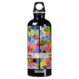 Multicolored floral pattern SIGG traveller 0.6L water bottle