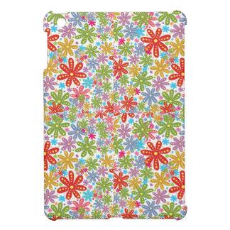 Multicolored Flowers Design. Floral Pattern iPad Mini Case