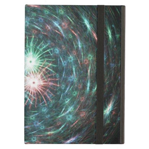 Multicolored Flurry iPad Cases