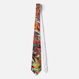Multicolored Fractal Art. Buy This One-Of-A-Kind Tie