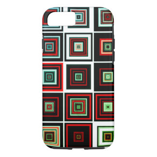 Multicolored Fractal Art Squares iPhone 8/7 Case