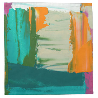 Multicolored Free Expression Painting Napkin