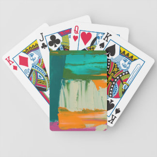 Multicolored Free Expression Painting Poker Deck
