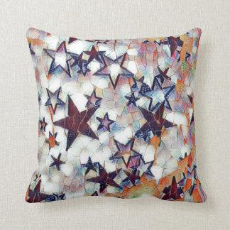 Multicolored Galaxy Cushion