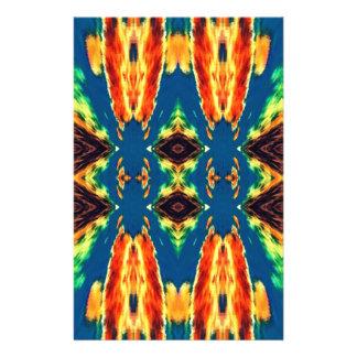 Multicolored Geometric Abstract Design 14 Cm X 21.5 Cm Flyer