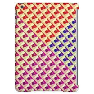 Multicolored Geometric Pattern. Abstract Design iPad Air Cover