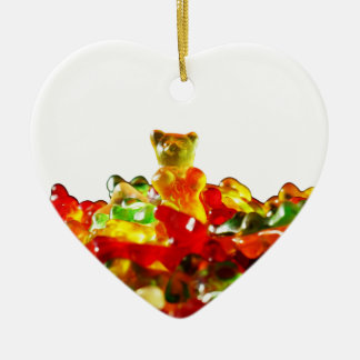 Multicolored Gummy Bears Christmas Ornament
