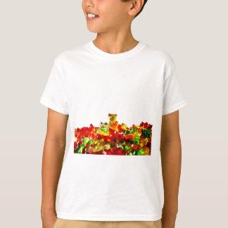 Multicolored Gummy Bears Tee Shirts