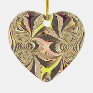 multicolored  Heart Christmas Ornament