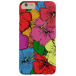 Multicolored Hibiscus Flowers #6 Barely There iPhone 6 Plus Case