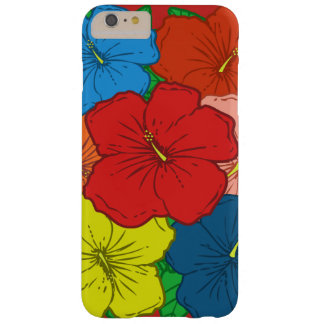 Multicolored Hibiscus Flowers #7 Barely There iPhone 6 Plus Case
