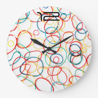 Multicolored Kringel | clock approximately
