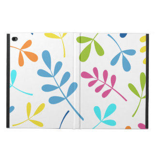 Multicolored Large Assorted Leaves Design