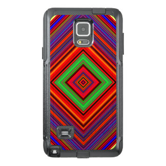 Multicolored Line Burst Pattern OtterBox Samsung Note 4 Case