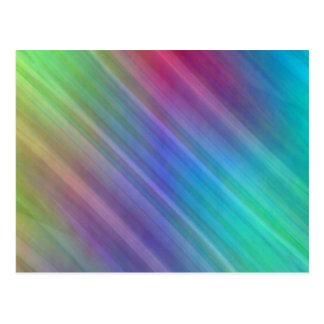 Multicolored linesby Tutti Post Cards