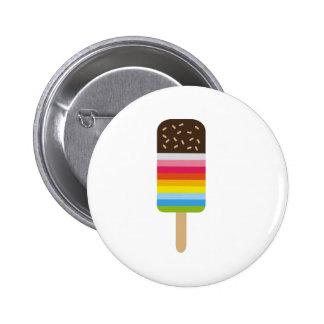 Multicolored Lolly Pop Icecream 6 Cm Round Badge