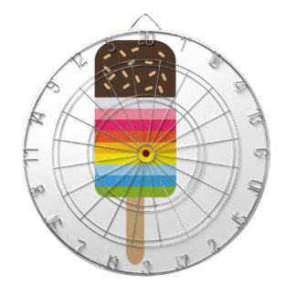 Multicolored Lolly Pop Icecream Dartboard