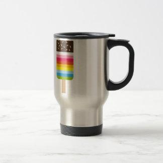Multicolored Lolly Pop Icecream Mugs