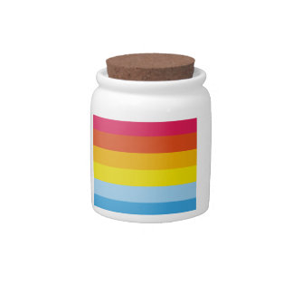 Multicolored Lolly Pop Icecream Candy Jars