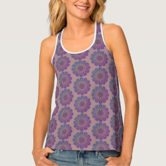 Multicolored Mandala Design version 2 Tank Top