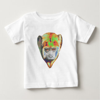 Multicolored Monkey Baby T-Shirt