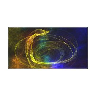 multicolored mystical background canvas print