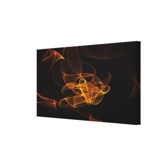 multicolored mystical background canvas print