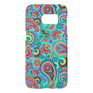 Multicolored Paisley Pattern