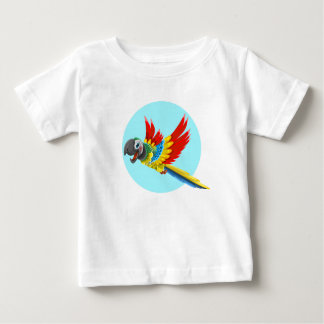 Multicolored parrot baby T-Shirt