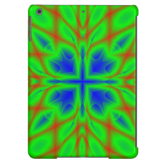 Multicolored Pattern blue green Cover For iPad Air