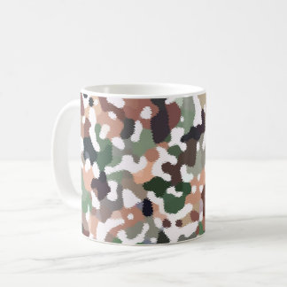 Multicolored Pattern Coffee Mug