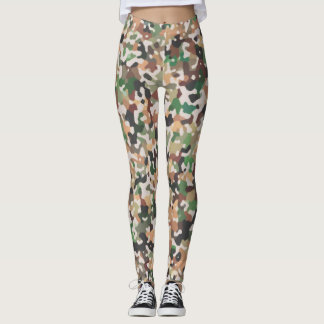 Multicolored Pattern Leggings