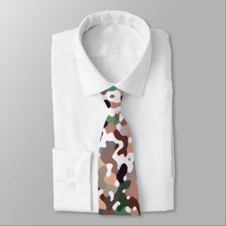 Multicolored Pattern Tie