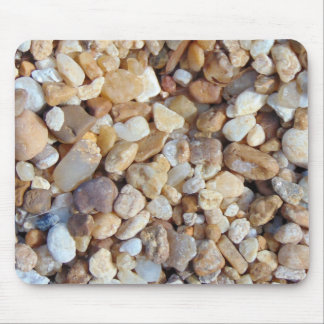 Multicolored pebbles 0020 mouse pad