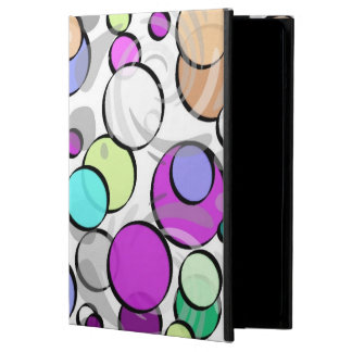 Multicolored points cover for iPad air