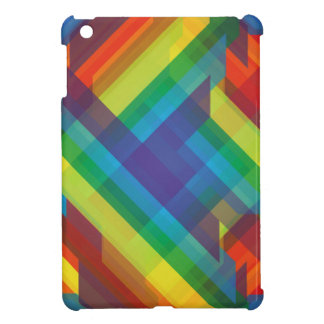 Multicolored Polygons Abstract Cover For The iPad Mini