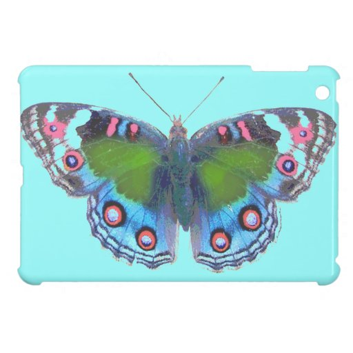 Multicolored pretty butterfly cover for the iPad mini