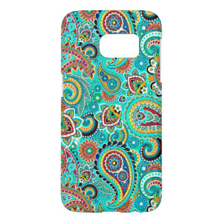 Multicolored Retro Paisley