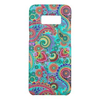 Multicolored Retro Paisley Pattern Case-Mate Samsung Galaxy S8 Case