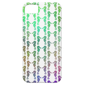 Multicolored Seahorse Pattern iPhone 5 Case
