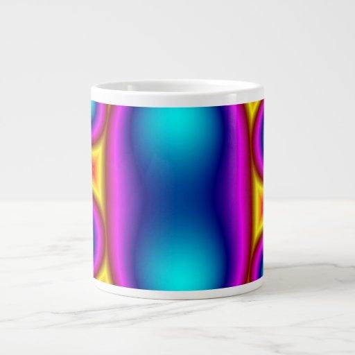 MUlticolored Jumbo Mug