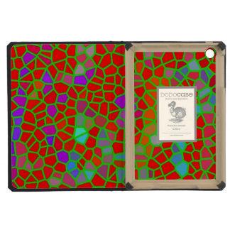 Multicolored stained glass iPad mini retina case