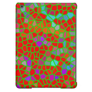 Multicolored stained glass iPad air cover