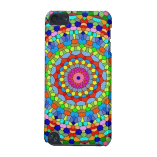 Multicolored Stained Glass Kaleidoscope iPod Touch (5th Generation) Case