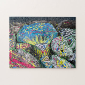 multicolored stones jigsaw puzzle