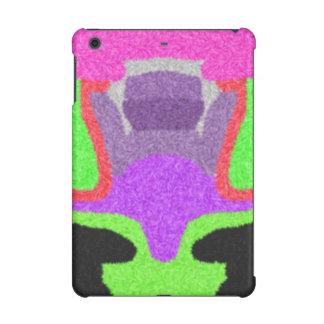 Multicolored strange pattern