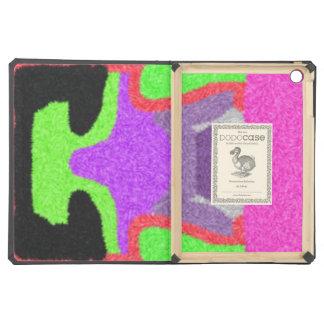 Multicolored strange pattern iPad air cover