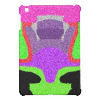 Multicolored strange pattern case for the iPad mini