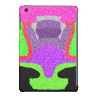 Multicolored strange pattern iPad mini retina cover
