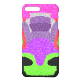 Multicolored strange pattern iPhone 7 plus case